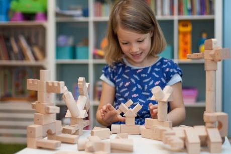 Klocki magnetyczne dają dziecku wiele nowych możliwości