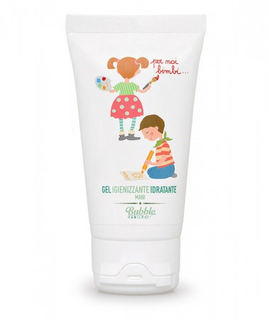 Organiczny Dezynfekujący i Nawilżający Żel do Rąk 50 ml | Dzieci | Bubble&CO