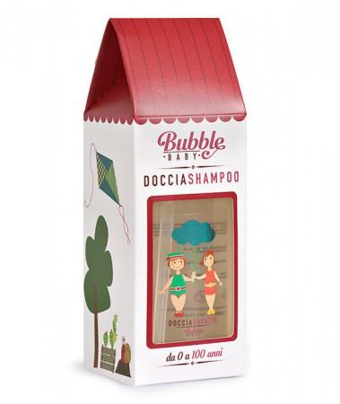 Organiczny Płyn do Mycia Ciała i Włosów dla Dzieci | 500 ml | Bubble Baby