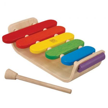 Drewniane cymbałki - ksylofon | Plan Toys