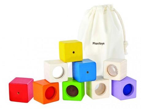 Klocki interaktywne w woreczku | Plan Toys