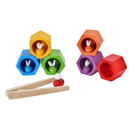 Plaster miodu i pszczółki | zabawka zręcznościowa | Plan Toys