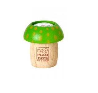 Drewniany kalejdoskop Grzybek | Plan Toys zielony