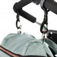 Torba do wózka z akcesoriami   Rosie Mint   Lassig Glam Label