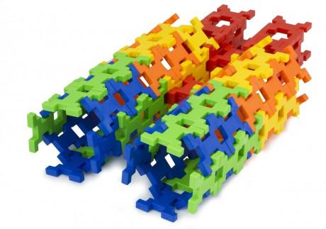Zobacz co można zbudować ze 100 klocków Incastro Colours Maxi