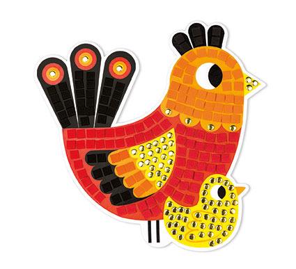 Zestaw artystyczny Mozaika | Dzień na farmie |Janod