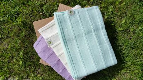 Kocyk letni | 100% bawełna organiczna GOTS | Martello - dostępne kolory