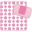 Pudełko - portfel na akcesoria do przewijania | kolor Flower Power | B.BOX