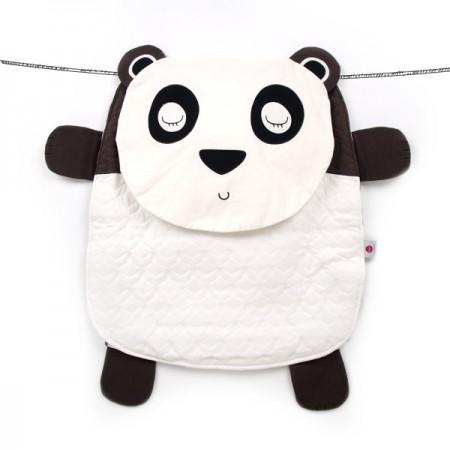 Poducha - mata do zabawy - kocyk Peripop | wzór Panda | Oribel