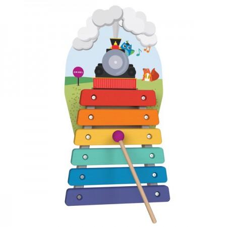 Zabawka Cymbałki Magiczny Pociąg VertiPlay | Oribel