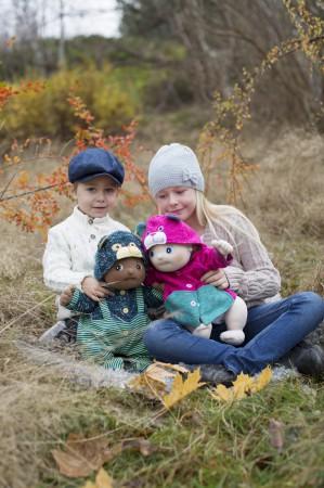 Lalki Rubens Barn Baby idealne do zabawy i do przytulania