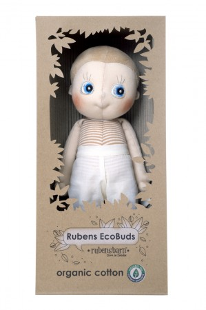 Lalka Aspan | 35 cm | Rubens Barn EcoBuds