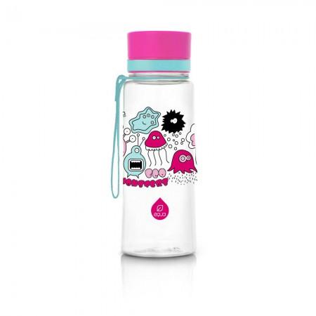 Butelka - bidon BPA Free 400 ml | Nowe Różowe potworki | EQUA