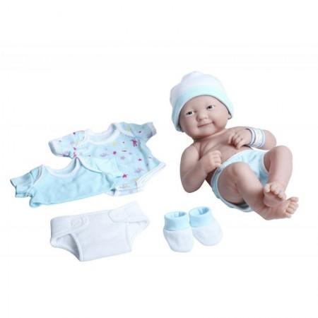 Lalka Bobas | Lalka chłopczyk + ubranka | Berenguer La Newborn