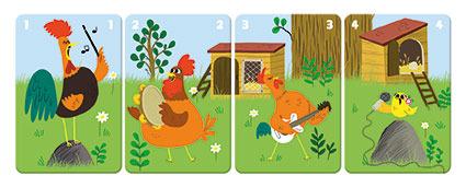 Gra karciana   Rodziny na farmie   JANOD