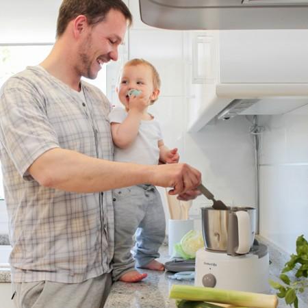 Robot kuchenny Suavinex do przygotowywana posiłków dla dzieci i niemowląt