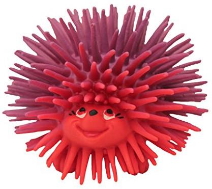 Gryzak - piszczek Jeżyk duży czerwony | 100% kauczuk Hevea | Lanco