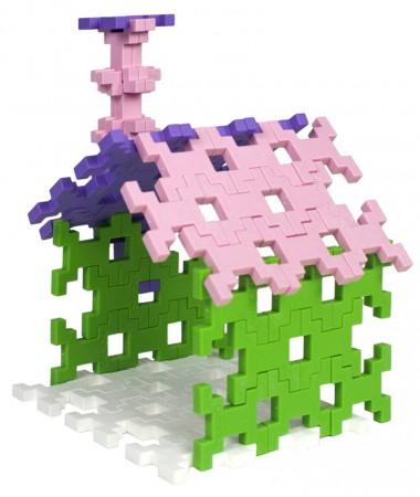 Zestaw 60 klocków   Colors Midi Pink   Incastro