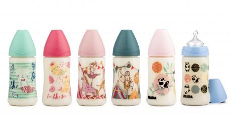 Nowa kolekcja butelek ze smoczkiem anatomicznym Suavinex