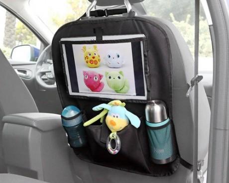 Organizer do samochodu z miejscem na tablet  | KioKids