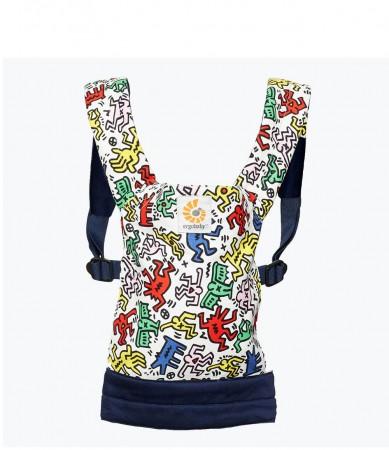 Nosidełko dla lalek i maskotek | wzór Keith Haring Pop | Ergobaby