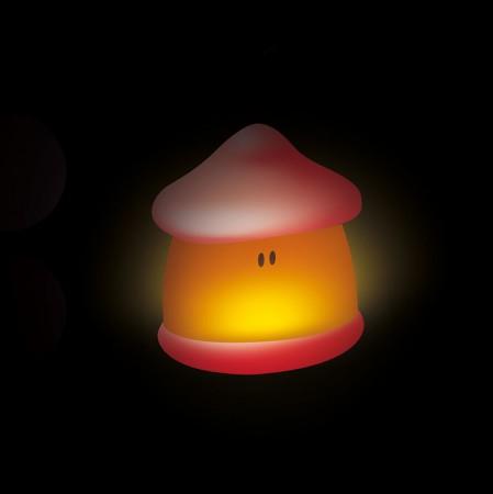 Lampka nocna LED przenośna Pixie Soft | kolor Coral | Beaba