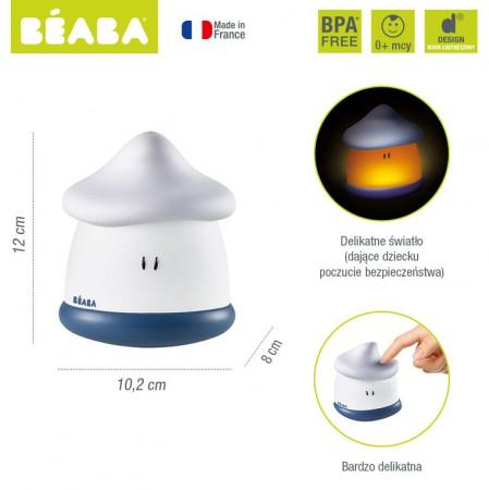 Lampka nocna LED przenośna Pixie Soft | kolor Mineral | Beaba