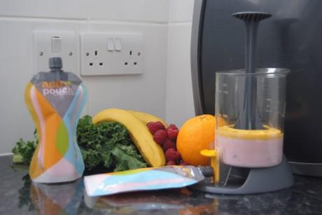 Zestaw do przygotowywania musów Nutripouch | Fill'n Squeeze