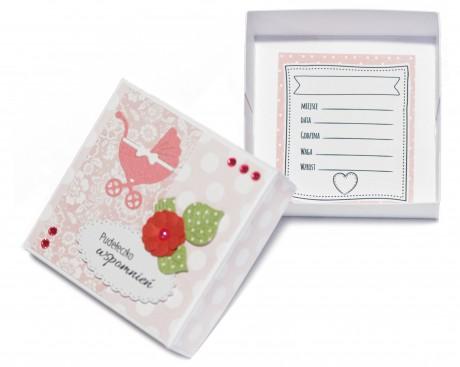 Pudełeczko wspomnień | idealne do przechowania pierwszych ząbków | różowe