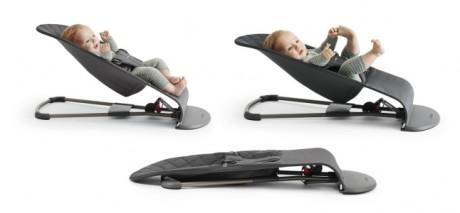 Leżaczek dla dziecka BABYBJORN - 3 pozycje rozłożenia