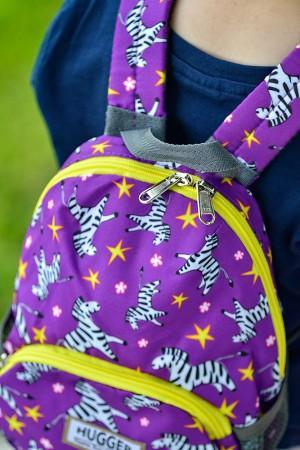 Plecak ze smyczą dla dziecka | wzór Zebra Libra | Hugger