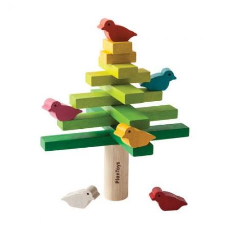 Balansujące drzewko układanka drewniana | Plan Toys
