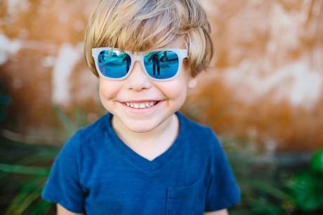 Wymiary okularów Babiators wielkość 3-5 lat