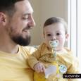 Gryzak dla niemowląt 4 m+   etap 2   Suavinex AS YOU