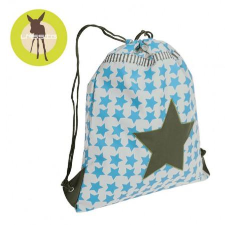 Plecak - worek   kolor Starlight olive   Lassig