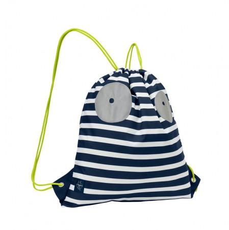 Plecak - worek   kolor Little Monster granat   Lassig