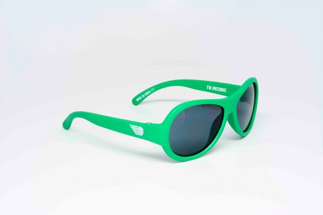 Okulary przeciwsłoneczne | 0-3 lat | Go Time Green | Babiators
