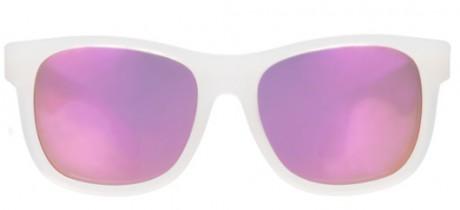 Okulary przeciwsłoneczne | 0-2 lat | Przeźroczyste oprawki Pink Ice | Babiators Premium