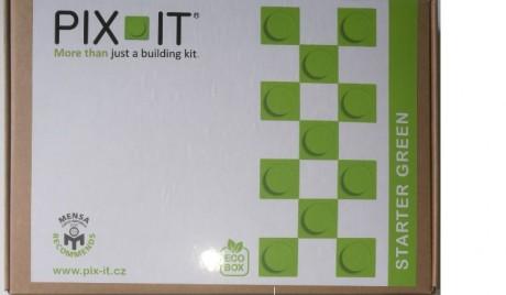 Układanka PIX-IT | zestaw na start | zielony - nowe opakowanie