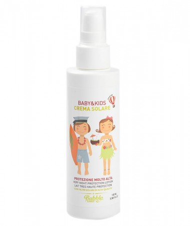 Krem Przeciwsłoneczny dla Dzieci i Niemowląt | SPF 50 | 100 ml | Bubble&CO