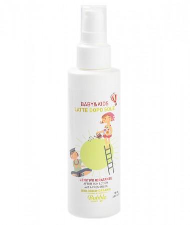 Organiczne, kojące mleczko po opalaniu dla dzieci   100 ml   Bubble&CO