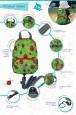 Plecak ze smyczą dla dziecka Totty Tripper S | Hugger opis