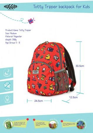 Plecak dla dziecka Totty Tripper M | Hugger - wymiary