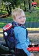Plecak dla dziecka Little Monster | wzór Barry the Bat | Hugger