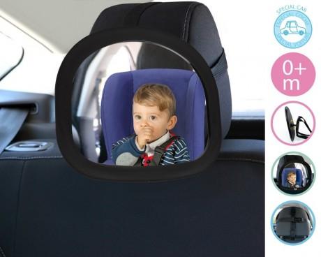 Regulowane lusterko samochodowe mocowane na zagłówku | KioKids