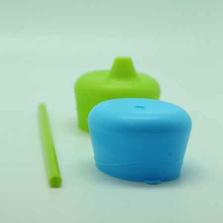 Zestaw silikonowych nakładek na szklankę   kolor ocean breeze   B.BOX