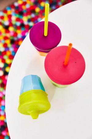 Zestaw silikonowych nakładek na szklankę | B.BOX