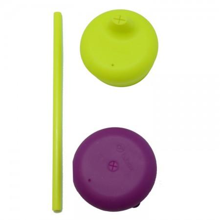 Zestaw silikonowych nakładek na szklankę | kolor passion splash | B.BOX