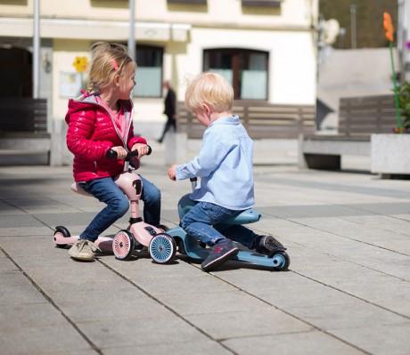 Highwaykick Scoot & Ride to zabawka dla dzieci w wieku od 1 - 5 lat