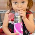Termobutelka Kiki 260ml | ustnik niekapek | Swirl Edition różowa | Pura